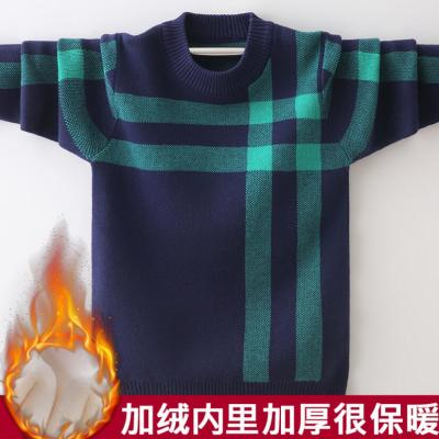 Boys pure cotton sweaters 4-16T kids warm jacket baby boys pullovers long sleeve knitted sweaters o-neck teenage winter coat