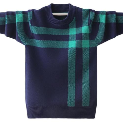 Boys pure cotton sweaters kids warm jacket boys pullovers long sleeve knitted sweaters