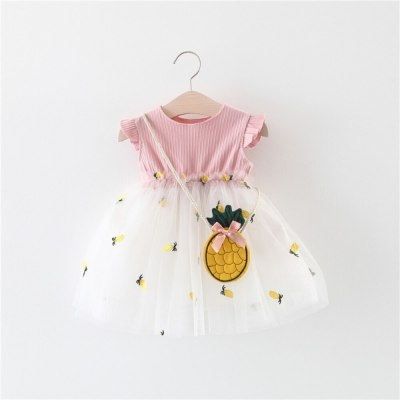 Newest Fashion Toddler Baby Girl Clothes Sleeveless Ruffle Princess Party Pageant Tutu Tulle Dress