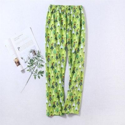 Cotton Pajamas Set Warm Sexy Women Pyjama Big Size 2020 Spring Sleepwear V-Neck Print Pajama Long Shirt Pants 2Piece/Set