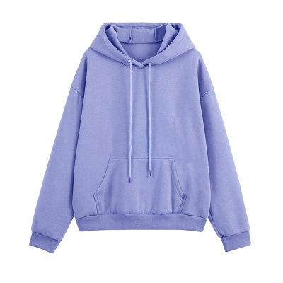 Women Tracksuit Two Pieces Set Cropped Fleece Hoodies Long Pants Autumn Winter Oversized Sweatshirts Casual Loose Sport Suits
