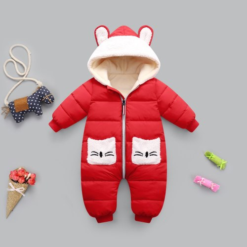 Autumn Winter Baby Clothes Romper For Girl coat Boy Jumpsuit 2020 New born Cotton Children Overalls Kids Costume Infant Clothing