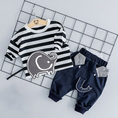 Newborn Clothes Autumn Winter Baby Boys Clothes Outfits Suit Kids Baby Girls Costume Sets Infant Clothing