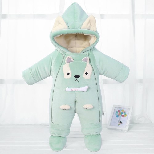 Romper Winter Hooded Warm New born Baby Jumpsuit Snowsuit