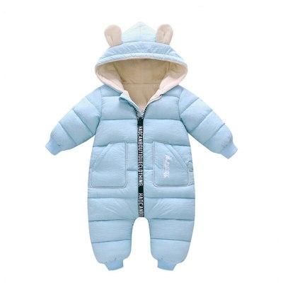2020 New born Baby Girl Clothes costume Winter toddler Romper Cotton Velvet Jumpsuit Thick Boy Warm Jumpsuit Infant Wear Kids