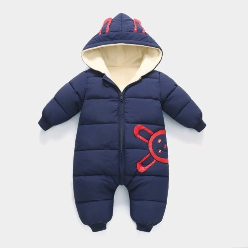 2020 New born Baby costume Girl clothes Wear Winter Jumpsuit Snowsuit Boy Warm Plus velvet Romper infant overcoat kids clothing