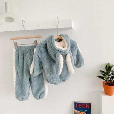Children's Clothes Arctic Velvet Winter New Outer Wear Warm Suit