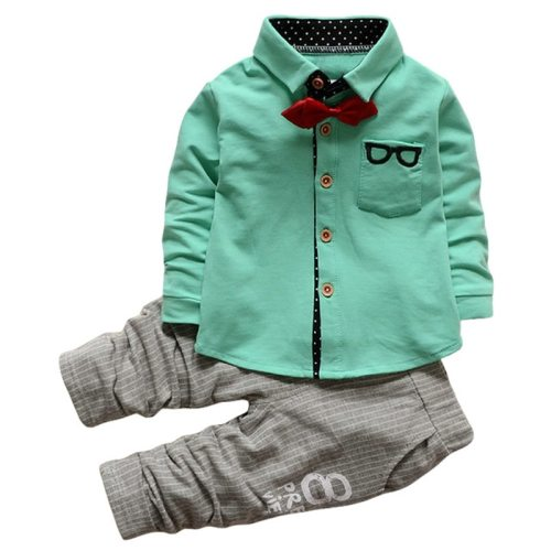 2020 Autumn Baby Toddler Boys Clothes T-shirt+Pants Outfits Kids Sport Suit Clothes For Boys Sets Children Clothing