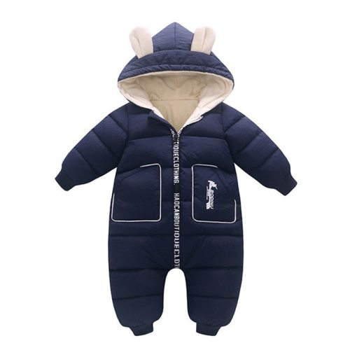 2020 New born Baby Girl Clothes costume Winter toddler Romper Cotton Velvet Jumpsuit Thick Boy Warm Jumpsuit Infant Wear Kids
