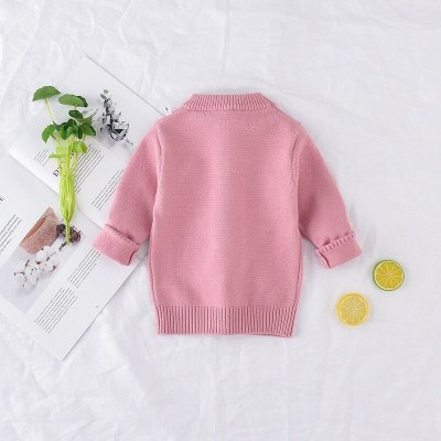 New Arrival Sweater Children Clothing rabbit Pattern Knitted Sweater