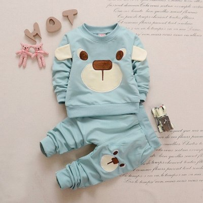Baby Girl Clothing Sets Baby Boy Clothes For Baby Casual Cartoon T-shirt+Pants 2Pcs Outfits Suit Newborn Clothes Infant Clothes