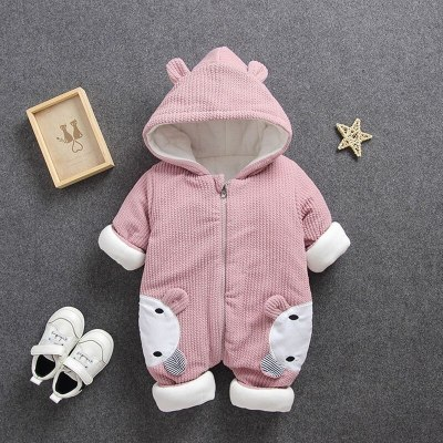 2020 New Baby costume rompers Clothes cold Winter Boy Girl Garment Thicken Warm Comfortable Pure Cotton coat jacket kids