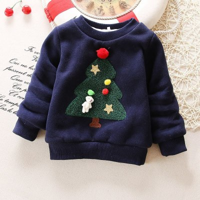Exactly Winter Baby Girls Christmas Clothes Toddler Sweater baby Winter Warm Thick Sweater shirts Girls Christmas Tops Sweaters