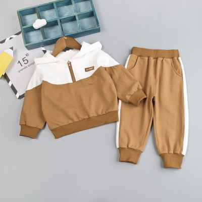 Children Clothing 2019 Autumn Winter Toddler Boy Clothes Hooded+Pants Outfit Kids Clothes Suit For Boys Clothes Set 1 2 3 4 Year