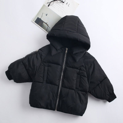 Girl  Winter Warm Hooded  Cotton-Padded Clothes Kids Warm Down Jacket