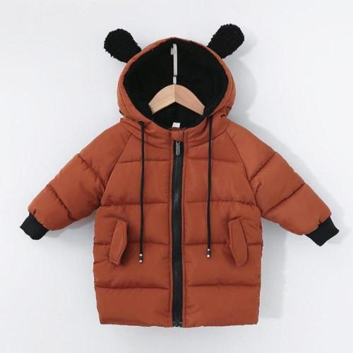 Baby Boys Coat winter Children outerwear fashion kids jackets for Boy girls cotton jacket Warm hooded toddler's parkas