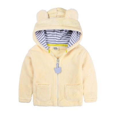 Newborn Infant Cotton Children Boys Jacket Hooded Baby  Winter Coat
