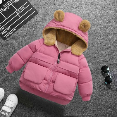 Outerwear Winter New Cotton Thick Down Jackets For Children