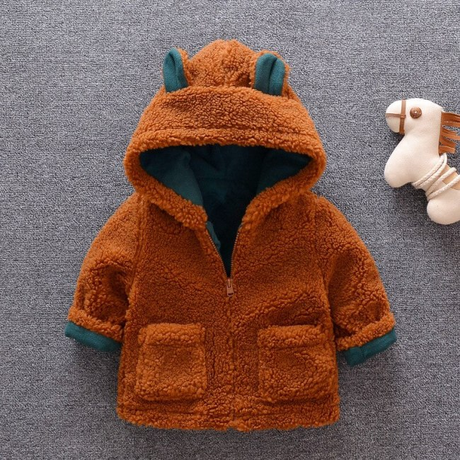 2020 Winter Jacket Children's Clothing Teddy Thick Coat