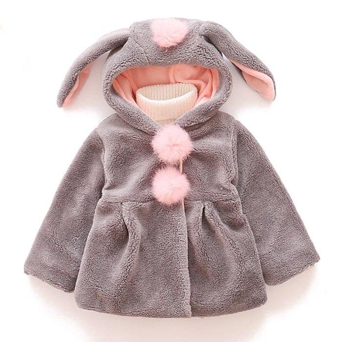 Baby Girls Jacket 2020 Autumn Winter Jacket For Girl Coat Kids Warm Outerwear Coat For Girl Clothes Children Jacket