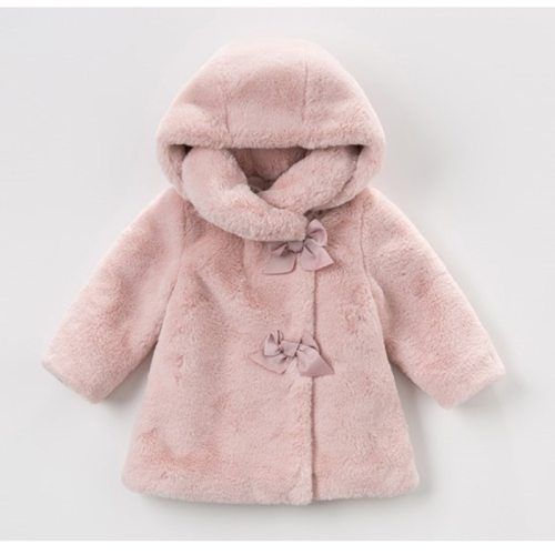Baby Girls Winter Coat Kids Clothes Artificial Rabbit Fur Coat