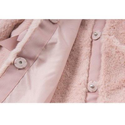 Baby Girls Winter Coat Kids Clothes Artificial Rabbit Fur Coat