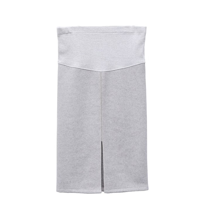 Soft Woolen Maternity Skirts 2019 Autumn Fashion Pencil Skirts Clothes for Pregnant Women Sexy Hot Pregnancy Belly Skirts