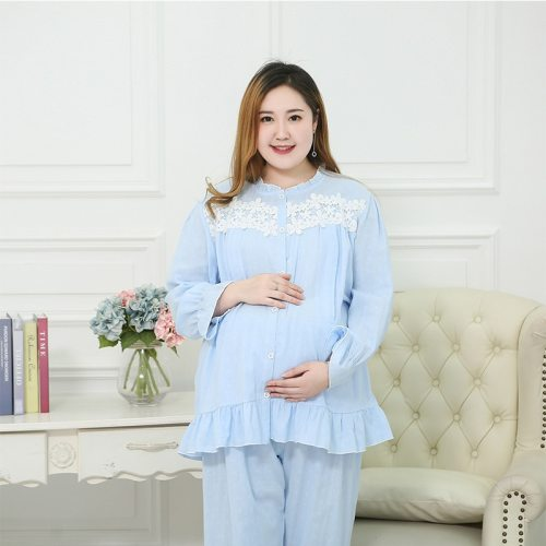 Pregnant mother breastfeeding pajamas Large size comfortable maternity Pajamas