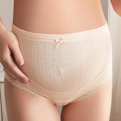 Pregnant women's underwear pregnancy high waist stomach lift underwear cotton pants pregnant large size breathable