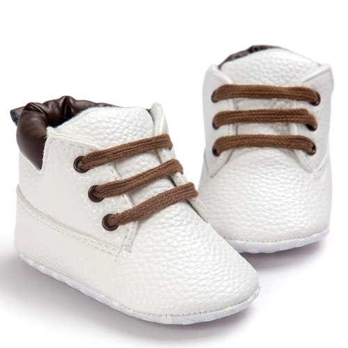 Fashion Baby Boys Girls Crib Shoes Toddler Soft Sole Leather Shoes Infant Boy Girl Toddler Casual Baby Shoes
