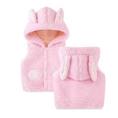 5 Colors Puffer Vest Kids Toddler Kids Baby Girls Boys Solid Outdoor Waistcoat Vset Hooded Windproof Coat