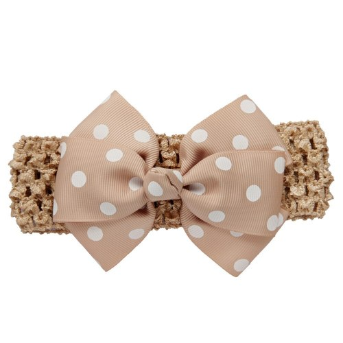 New Baby Girl Headband Infant Newborn Toddler Girls Wave Headbands Bowknot Hair Accessories For Girls Infant Hair Band