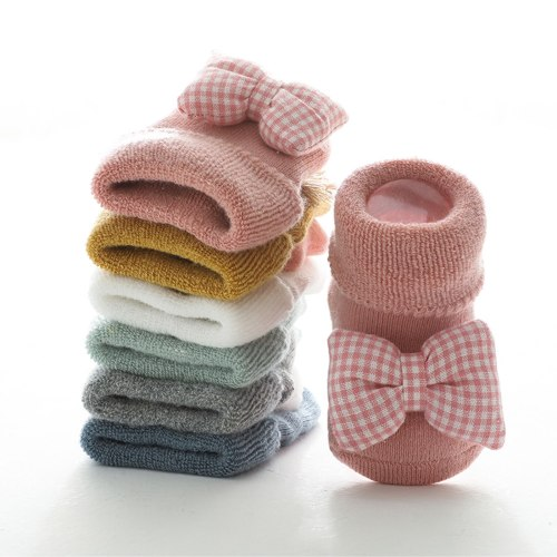 Newborn Baby Socks Toddler Baby Girls Boys 3d Cute Cartoon Animal Anti-slip Socks