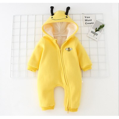 Newborn baby clothes of infant jumpsuit baby romper with  cotton knitted baby romper winter clothes