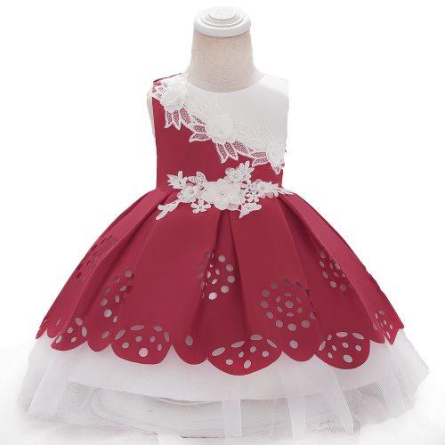 Baby Girls Clothes Infant Newborn Baptism Princess Dress  Kids Baby Party Wedding Dress