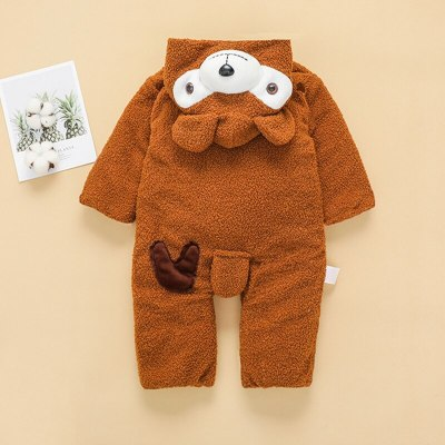 New Baby Girl Clothes Cartoon Infant Children Clothes Romper For Newborn Kids Hooded Romper