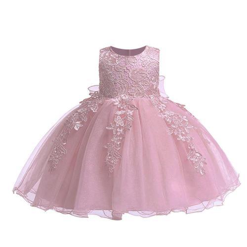 Winter Baby Girls Dress 2020 Puffy Wedding Dress For Girls Princess 1st Birthday Girls Party Dress
