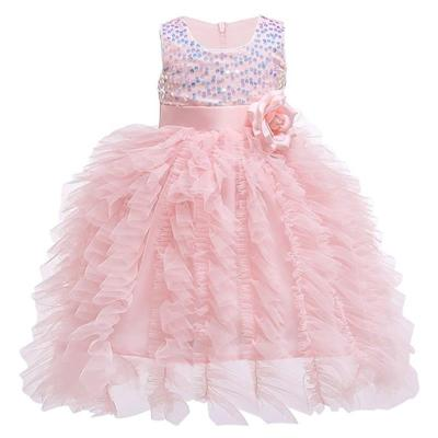 Baby Girl Dress Lace Wedding Christening Dresses For Kids Girls First Year Birthday Party Dress