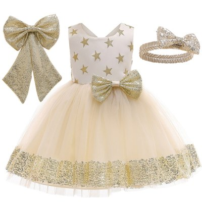 Summer Baby Girls Dress Kids Dresses for Girls Bow Birthday Princess Dress Girls Party Dress