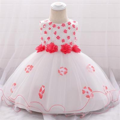 Summer Baby Girl Princess Dress For Infant Birthday Party Dress
