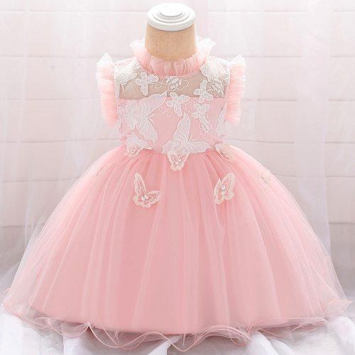 Baby Girl Dress for Newborn Christening Princess Dress Kids  First Birthday Party Dress Wedding Infant Clothing