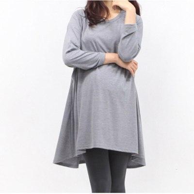 Maternity Tops Breastfeeding Clothes Dress Autumn Upper Garment Pullover Long Sleeve Lactation Nurse Code Nursing Top