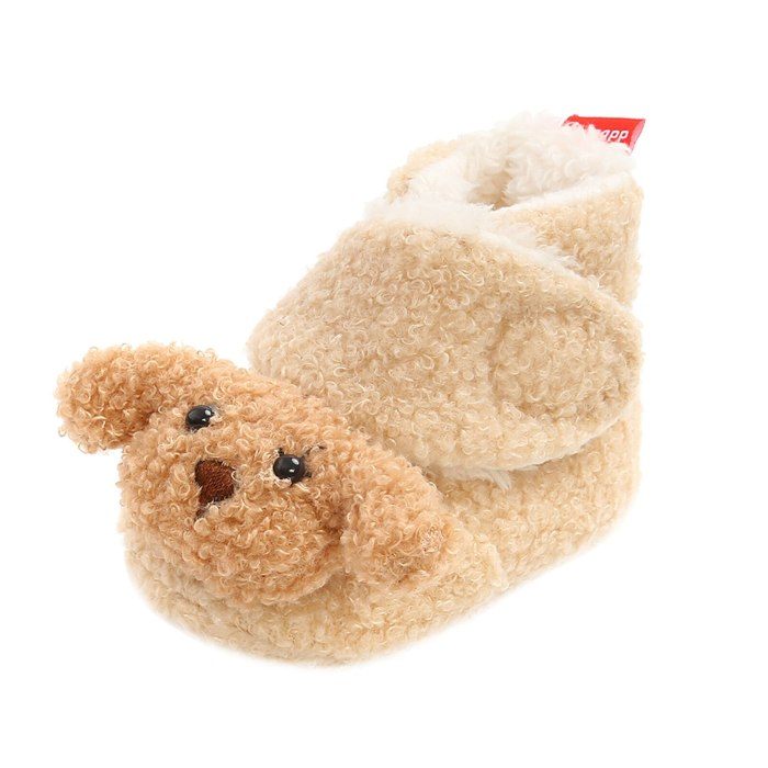 Animal Print Shoes Infant Girls Indoor Soft-soled Princess Shoes Baby Walking Shoes Winter Unisex Shoeses Zapatillas De Deporte
