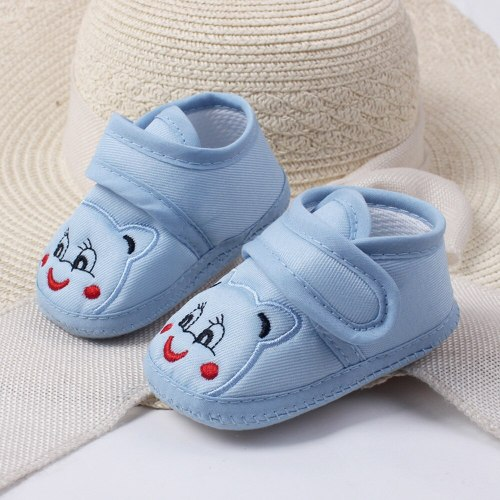 Cartoon Baby Booties Girl Boy Soft Sole Anti-slip Shoes Toddler Shoes Scarpe Bambino Baby Schoenen Newborn Shoes First Walkers
