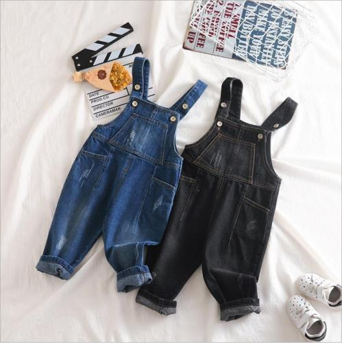 Spring Baby Girls Denim Clothing Cottong Autumn Boys Sleeveless Playsuits Jumsuits Outfits Kids Overall Jeans Bodysuits