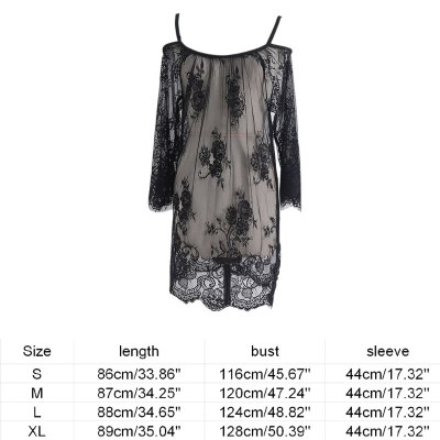Lace See Through Maternity Dresses Sleepwear Studio Clothes Pregnancy Photo Prop