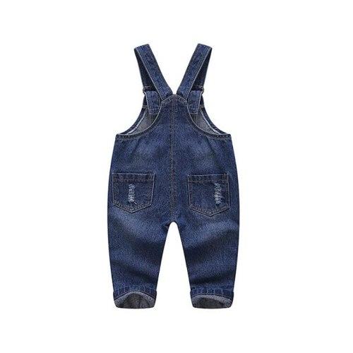 Baby Overalls boys girls denim pants infant pants trousers spring autumn kids jeans for 0-4 years children's denim overalls