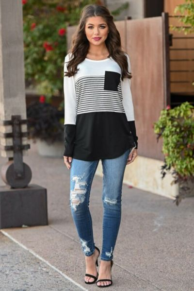 Casual Striped Women Long Sleeve Maternity Tops Breastfeeding Tops Ladies T-Shirt Loose Pregnancy Loose Clothes T Shirt