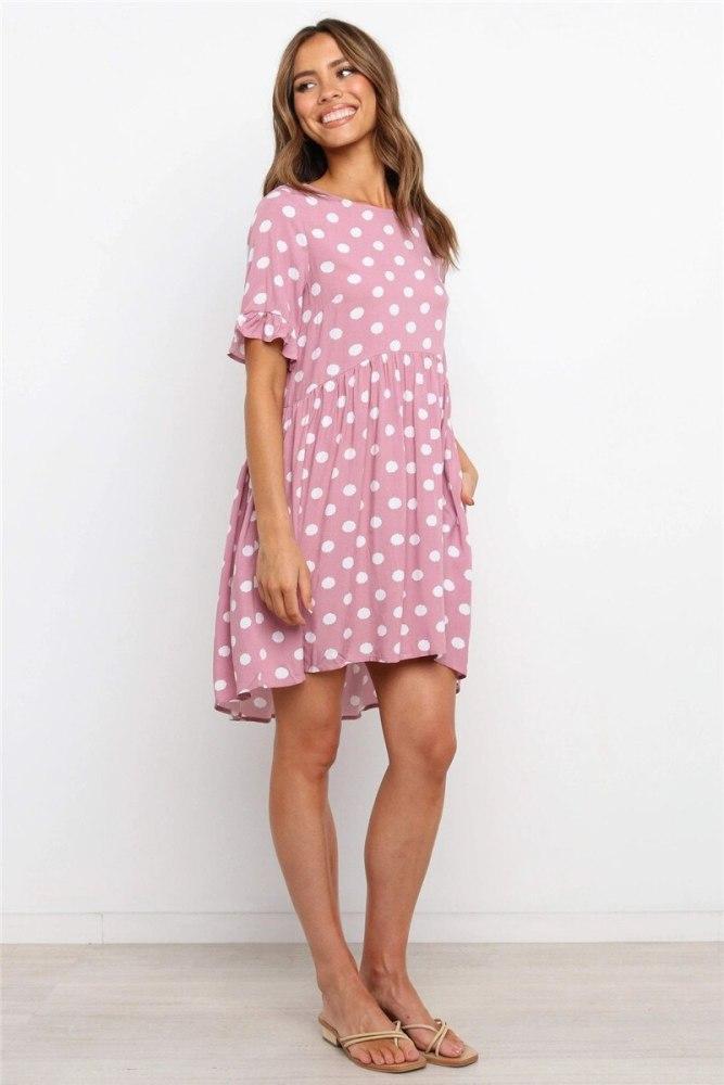 Dresses Woman Casual Summer Elegant Clothes Cotton Ruffles Club Dress Transparent Mini Short Femme Sexy