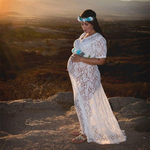 Photography Dress Maternity Dresses Maternity Photo Taken Clothes Pregnant Clothes  Maternity Lace Dress Sexy Pregnancy Props